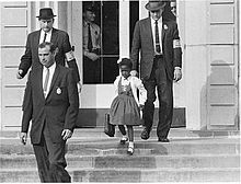 U.S. Marshalls with Ruby Bridges, November 14, 1960