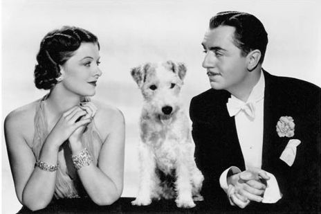 Myrna Loy, William Powell