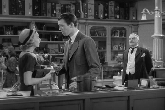 the shop around the corner margaret sullavan  james stewart frank morgan