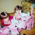 Me and Beth Christmas 1965