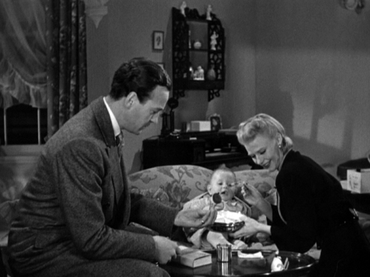 David Niven, Ginger Rogers starring in Bachelor Mother