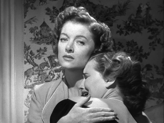 Myrna Loy, Teresa Wright in The Best Years of Our Lives