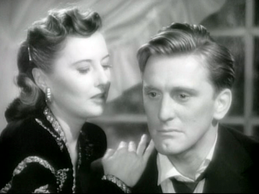 Barbara Stanwyck, Kirk Douglas in The Strange Love of Martha Ivers