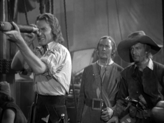 Errol Flynn in Captain Blood