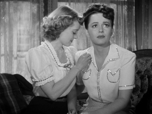 Bette Davis, Olivia de Havilland In This Our Life