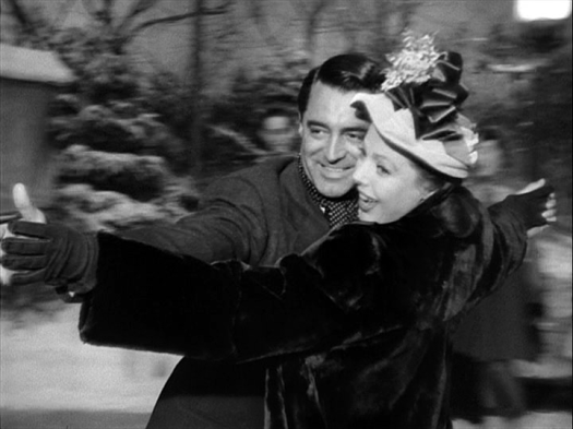 Cary Grant, Loretta Young in The Bishop's Wife
