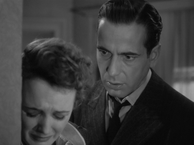 Mary Astor, Humphrey Bogart in The Maltese Falcon
