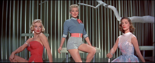 Marilyn Monroe, Betty Grable, Lauren Bacall - How to Marry a Millionaire